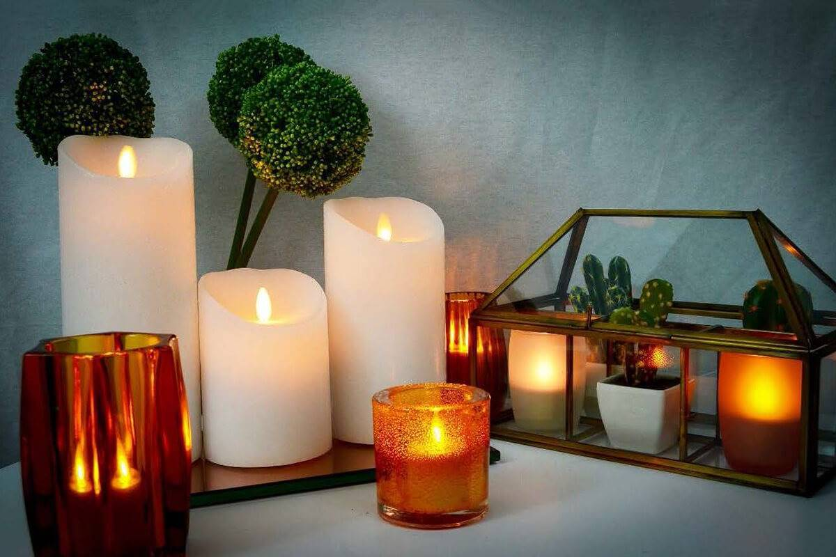 Types of candle molds